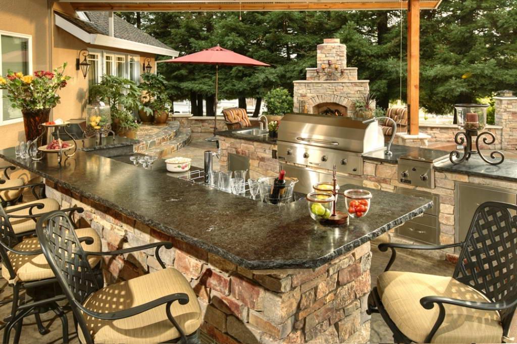 Custom Backyard Designs Galaxy Outdoor Backyard Design Idea Phot